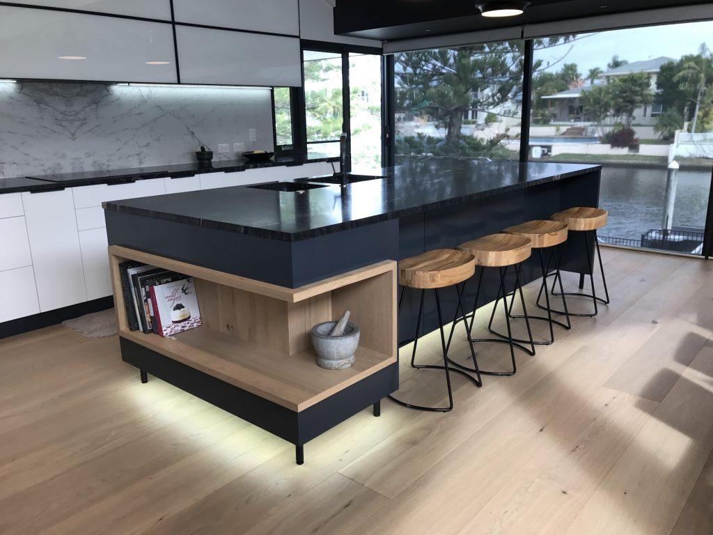 luxury kitchen renovations gold coast