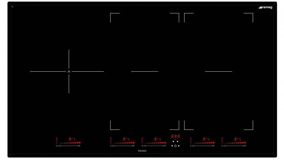 900mm induction cooktop for new kitchen renovation