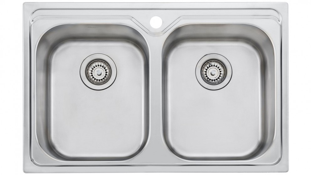 double bowl sink for new kitchen renovation